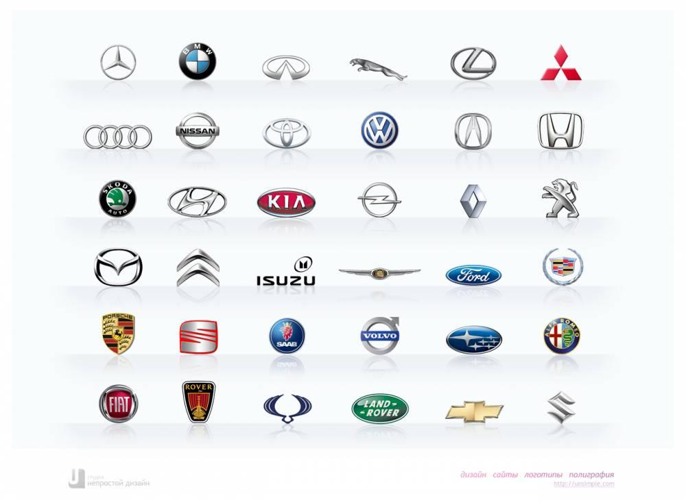 тихий уютный значки автомобильных марок с названиями картинки потрясающих