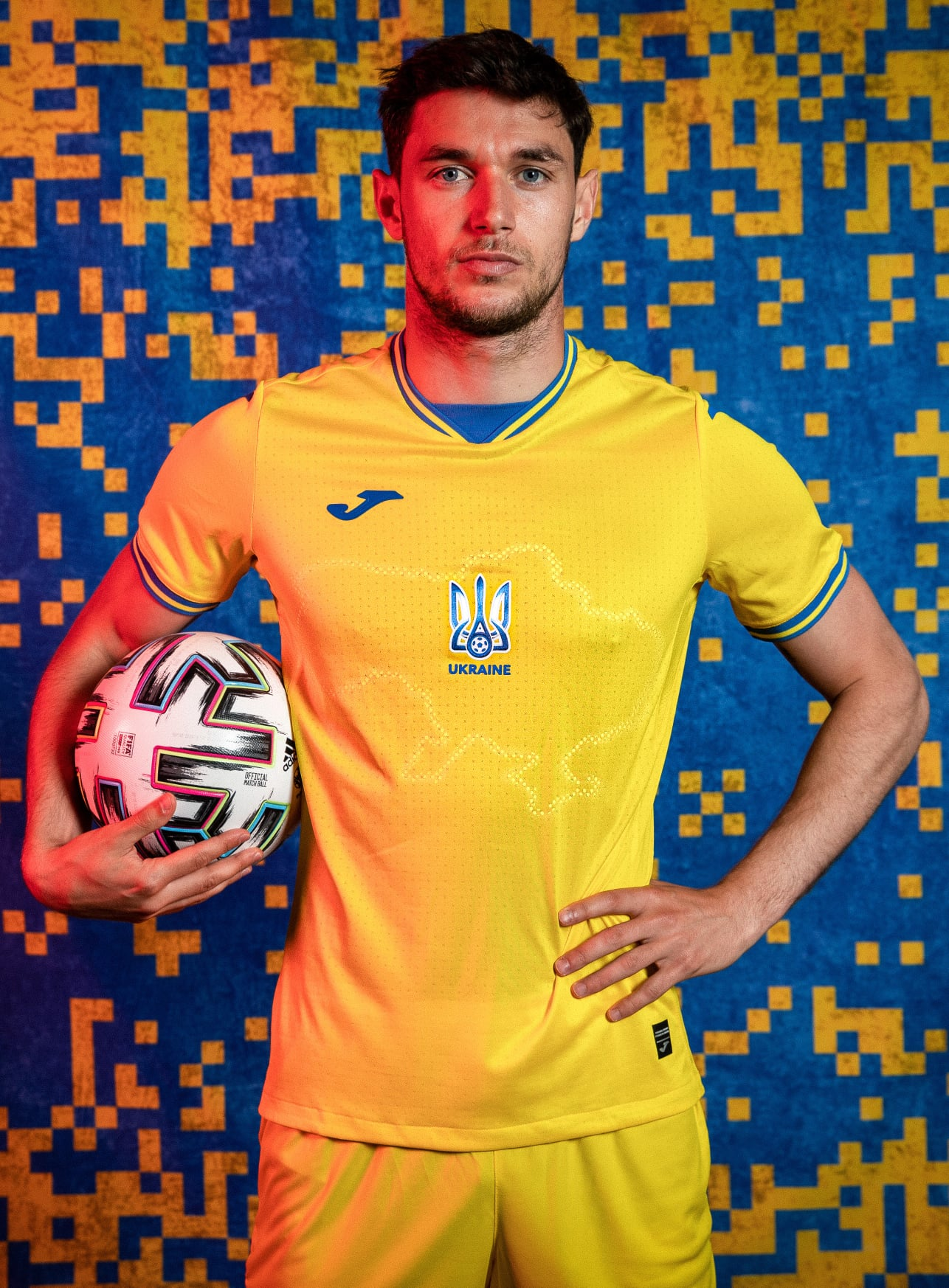 Форма сборной Украины по футболы 2021