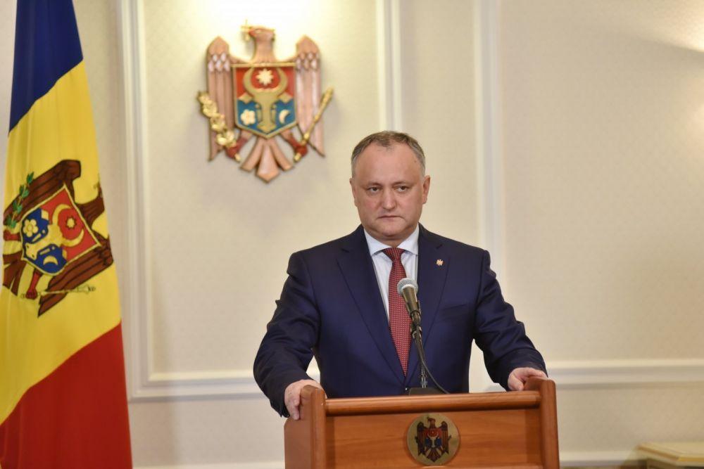Демпартия Молдавии: Инициатива президента— политическая фикция