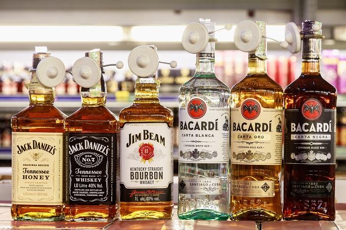 Виски, Джек Дэниелс и Бакарди