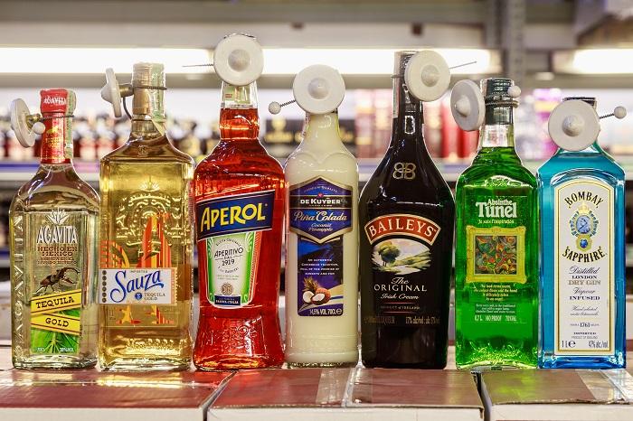 Цветные напитки