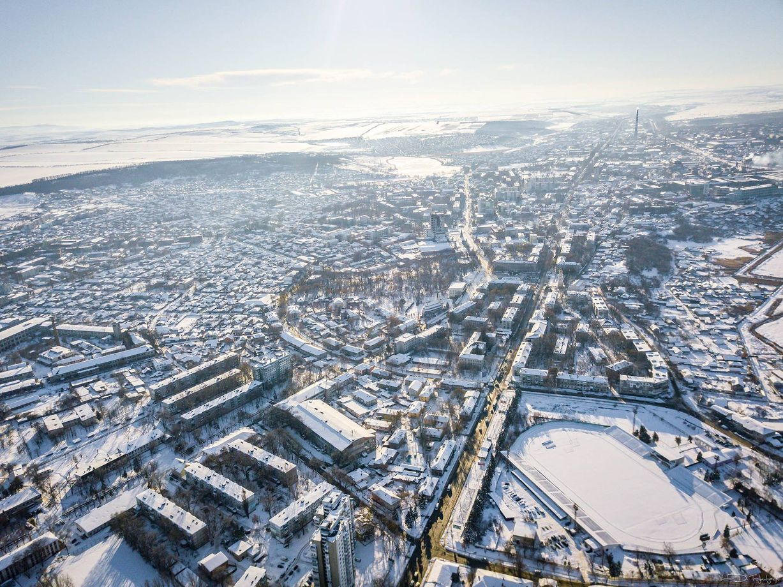 домашний фото москвы зимой с высоты будем
