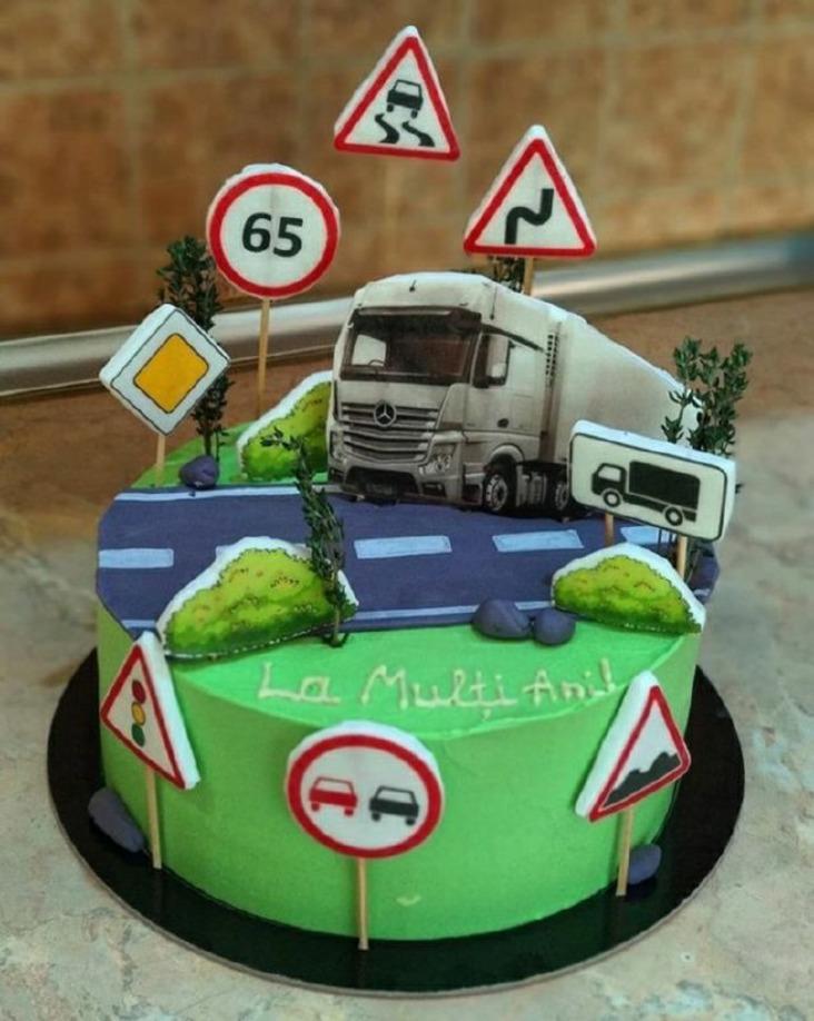 Торт для дальнобойщика