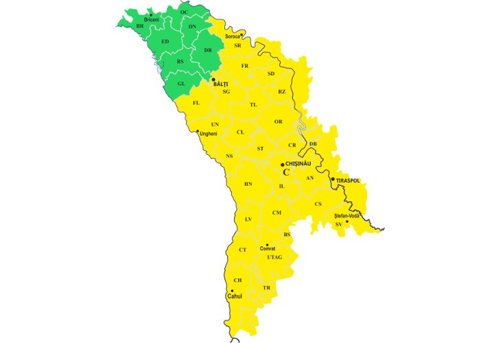 Новое предупреждение синоптиков: что принесет вМолдову южный циклон