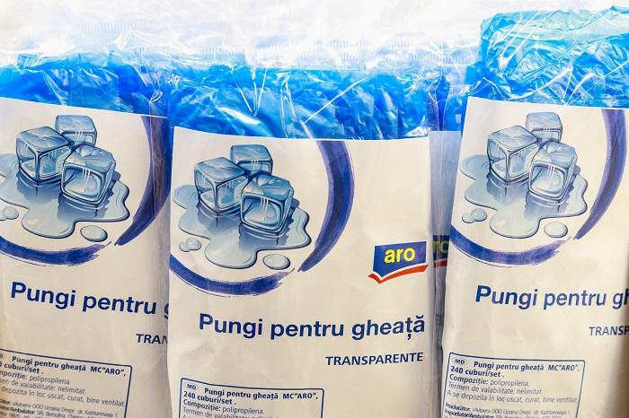 Пакеты для льда