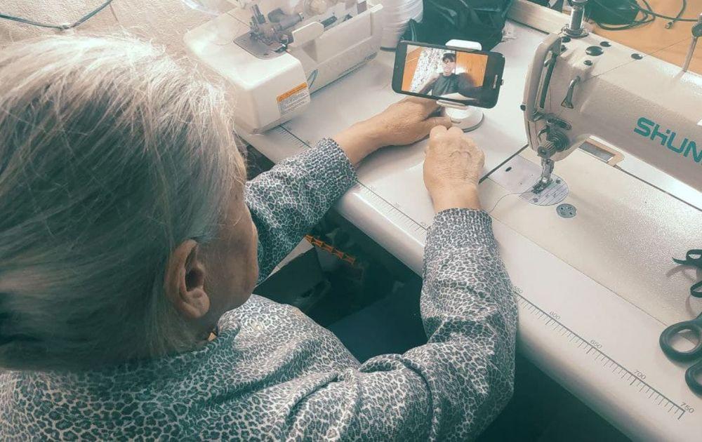 Бабушка и интернет