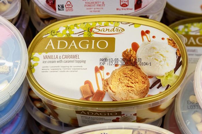 Коробка мороженного ADAGIO