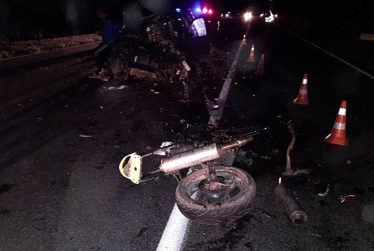 ВОргеевском районе разбился насмерть мотоциклист