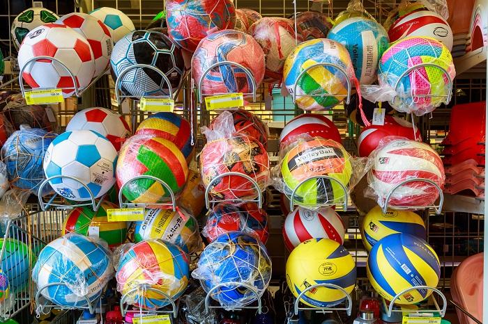 Пляжные мячики