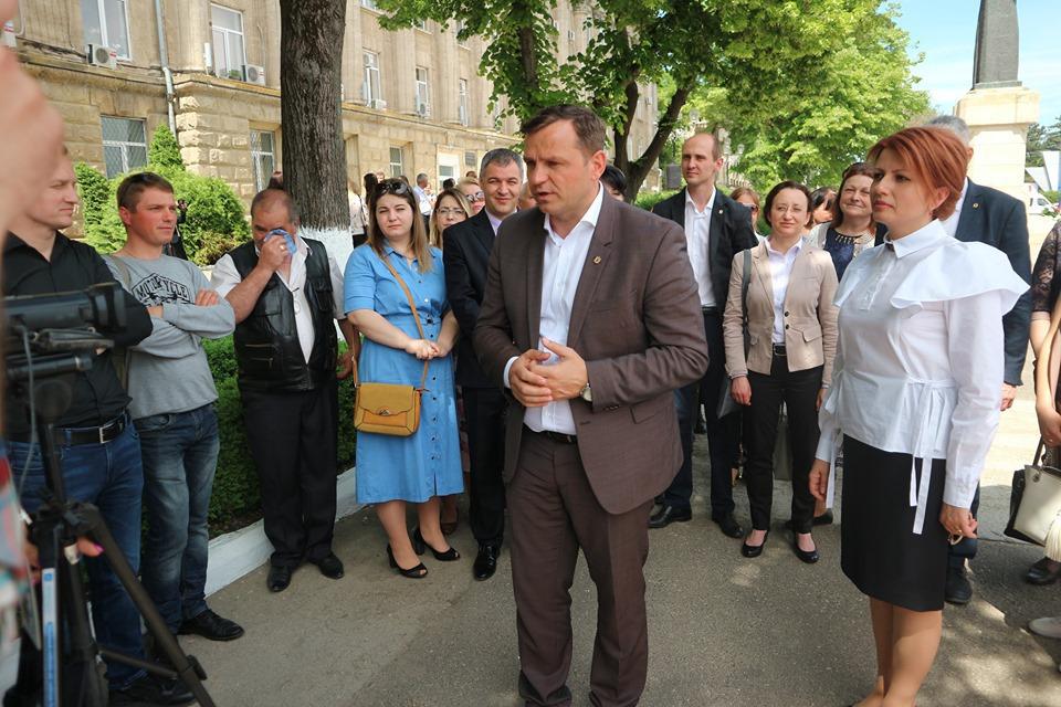 Андрей Нэстасе в Бельцах: «Перенос местных выборов на более долгий срок — глупость»