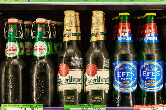 Бутылочки пива