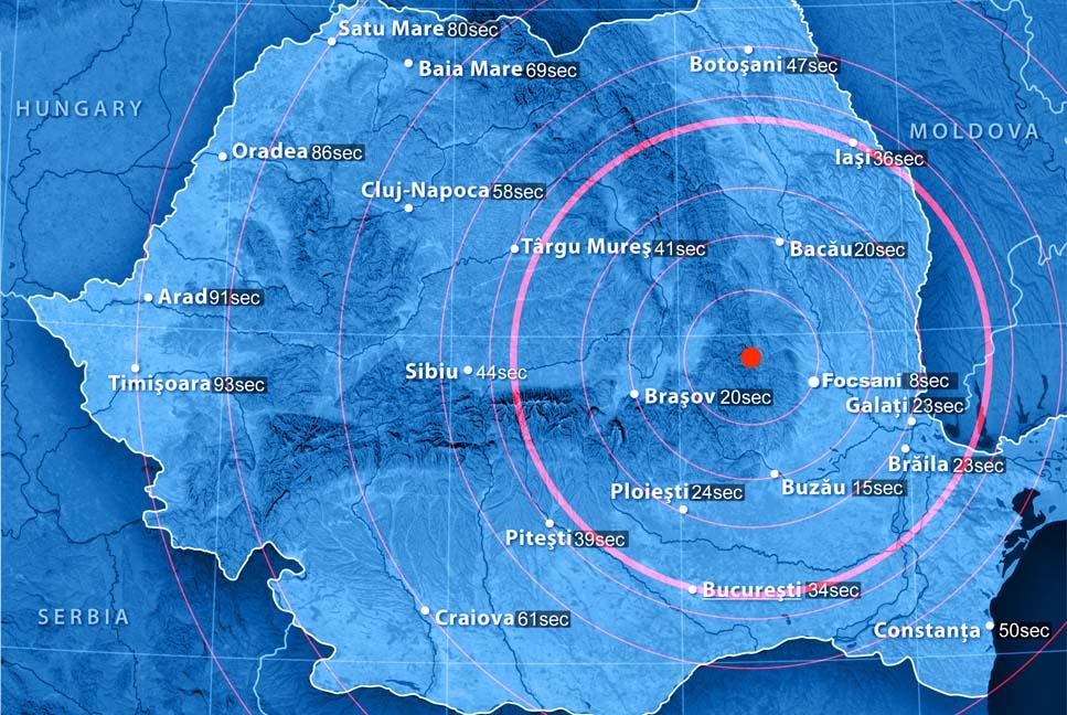Вгосударстве Украина незафиксировали разрушений после землетрясения