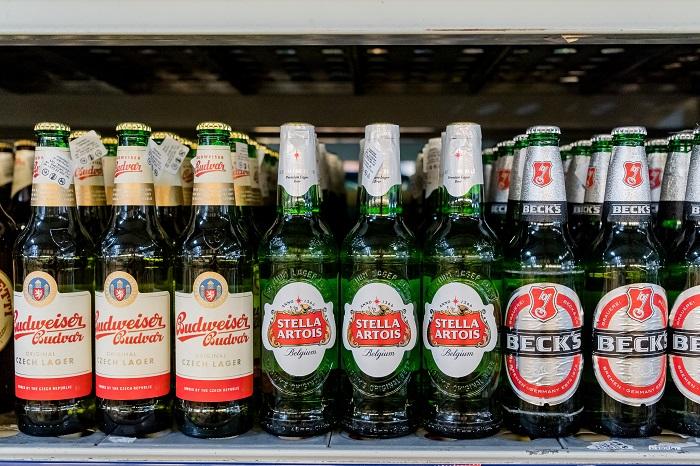 Бад, Стелла Артуа и Бекс купить пиво