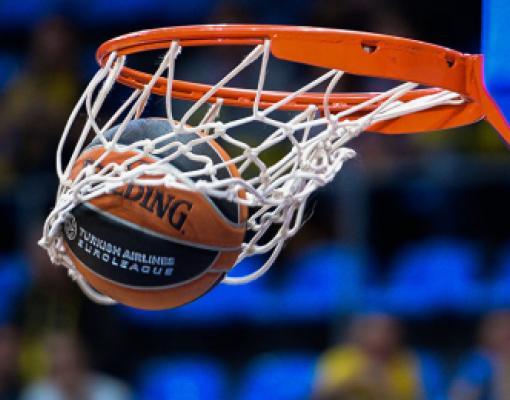 Баскетбол, попадание в кольцо