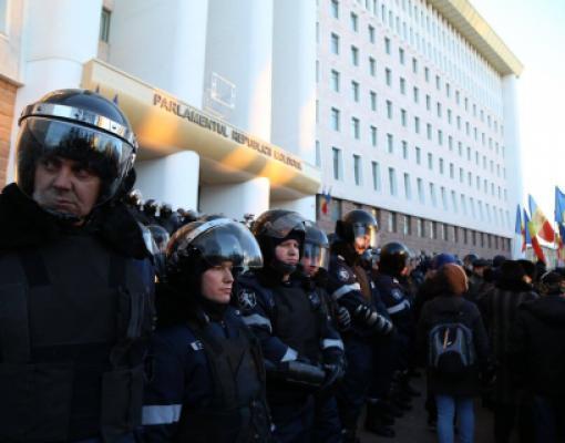 Протесты в Кишинёве