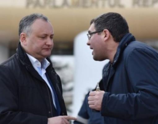 Ренато Усатый и Игорь Додон