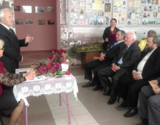 Борис Грицуник. Презентация книги в Музее Истории и Этнографии