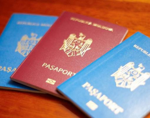 Загранпаспорт Молдовы