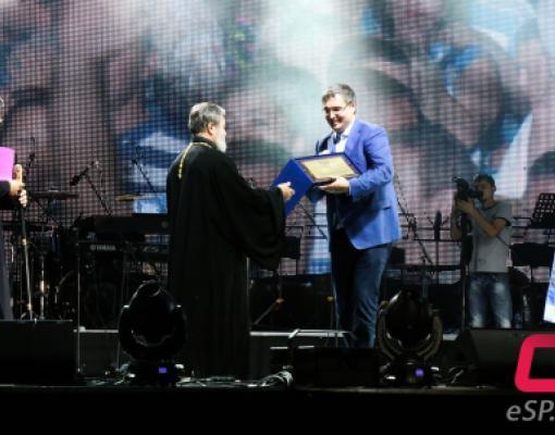 Епископу Маркеллу присвоено звание Почётного гражданина Бельц
