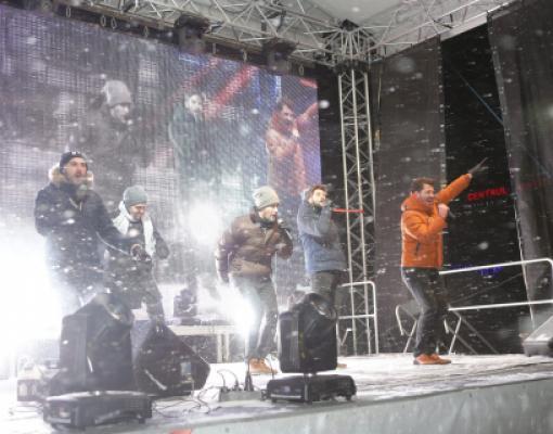 Рождественский концерт в Бельцах