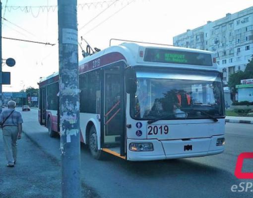 4-й троллейбус Бельцы