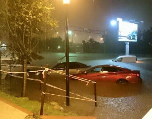Наводнение в Кишинёве