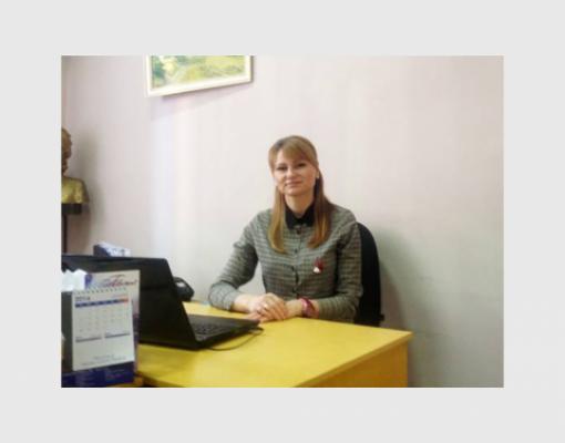 Кристина Мунтяну - директор бельцкой муниципальной галереи им. Антиоха Кантемира