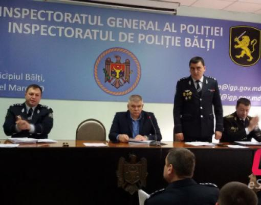 Заместитель главы Бельцкого инспектората полиции Дмитрий Чеботарь