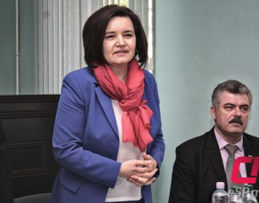 Министр культуры РМ Моника Бабук