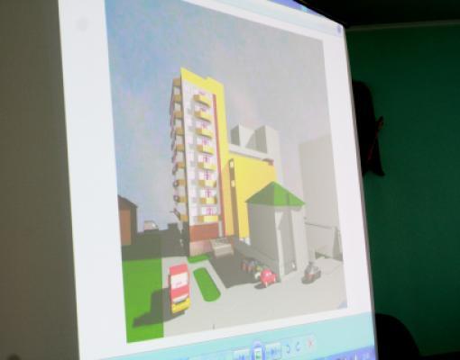 Проект гостиницы в центре Бельц возле «Элит-2»