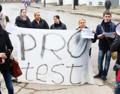 Протест ромов в Бельцах, Олег Брега