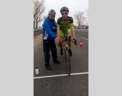 Один из призёров Вячеслав Руснак со своим наставником Валерием Панковым