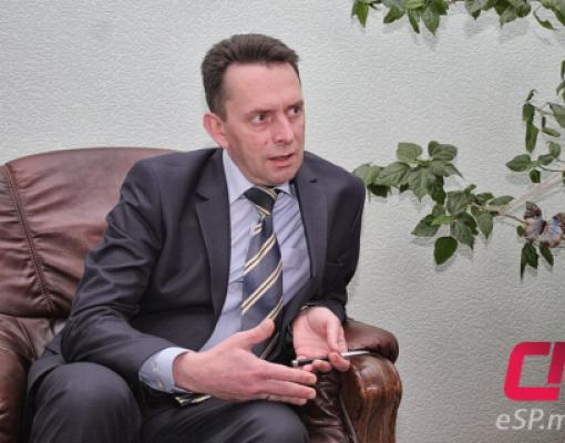 Посол Украины в Бельцах Святослав Драч