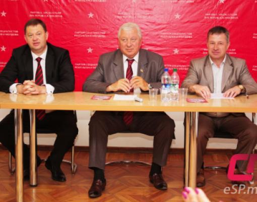 Олег Топольницкий, Виктор Сорочан и Александр Усатый.
