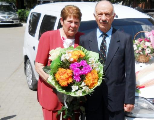 Ольга и Алексей Постолатий