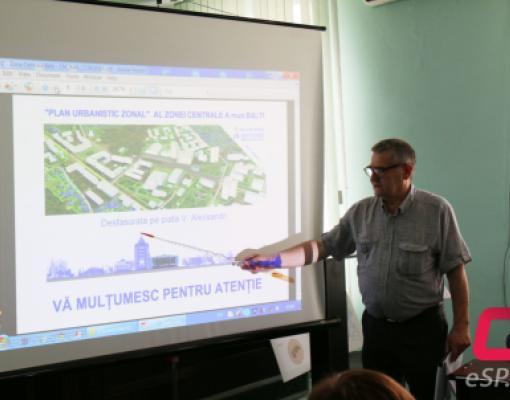 План реконструкции центра Бельц будет вынесен на обсуждение.