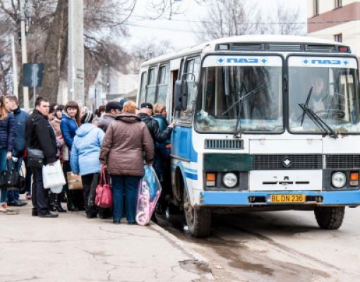 Автобус в Поповку