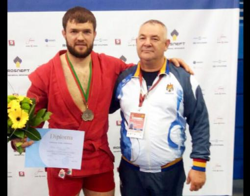 Денис Такий со своим наставником Юлианом Пятиковским
