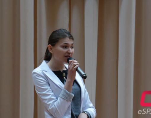 Победительница конкурса «Молодой специалист» Дина Кожокару.