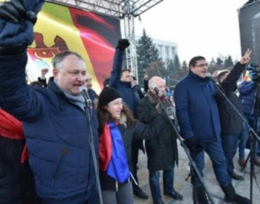 Лидеры протестов в Молдове