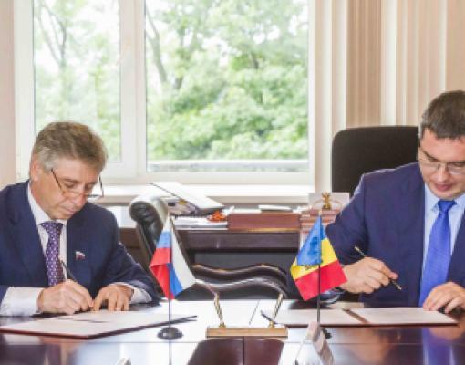 Подписание договора о побратимстве Бельц и Нижнего Новгорода
