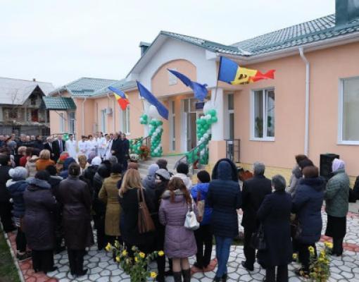 Центр семейных врачей села Кочиеры открылся в ноябре 2014 года.