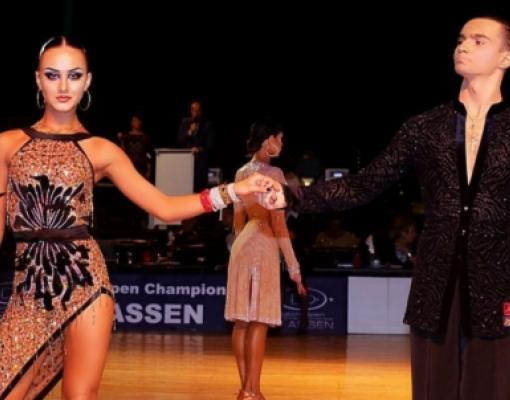 Чемпионы мира по латиноамериканским танцам Галина Войтенко и Игнатий Малков