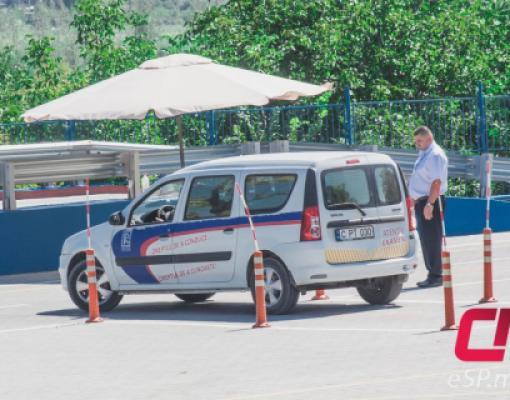 Сдача экзамена на получение водительских прав, МРЭО Бельцы