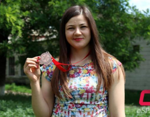 Наталья Будяну завоевала бронзовую медаль чемпионата Европы по самбо