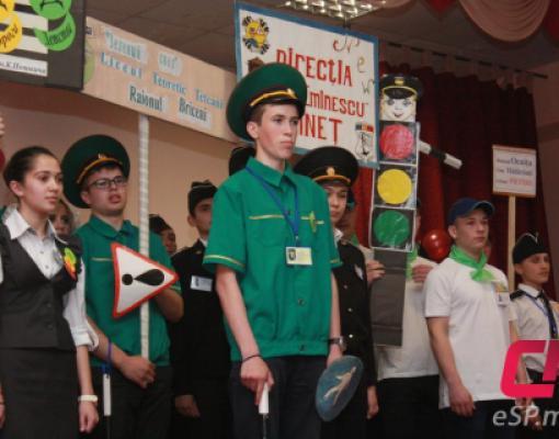 Соревнования по ПДД в Бельцах