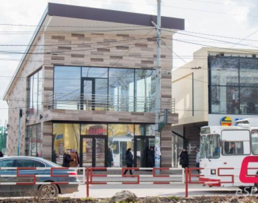 центральная остановка в Бельцах