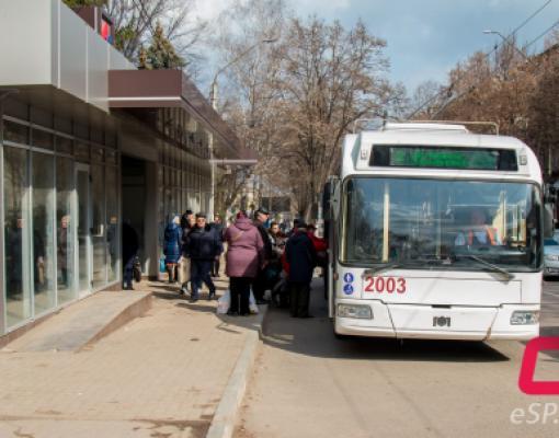 Троллейбус №2 в Бельцах