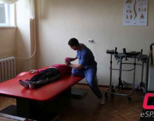 В бельцкой больнице открылось отделение реабилитации