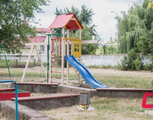 Детская площадка по ул. Сучавы